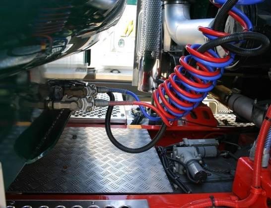 Jak zbudowany jest układ hamulcowy ciężarówki?